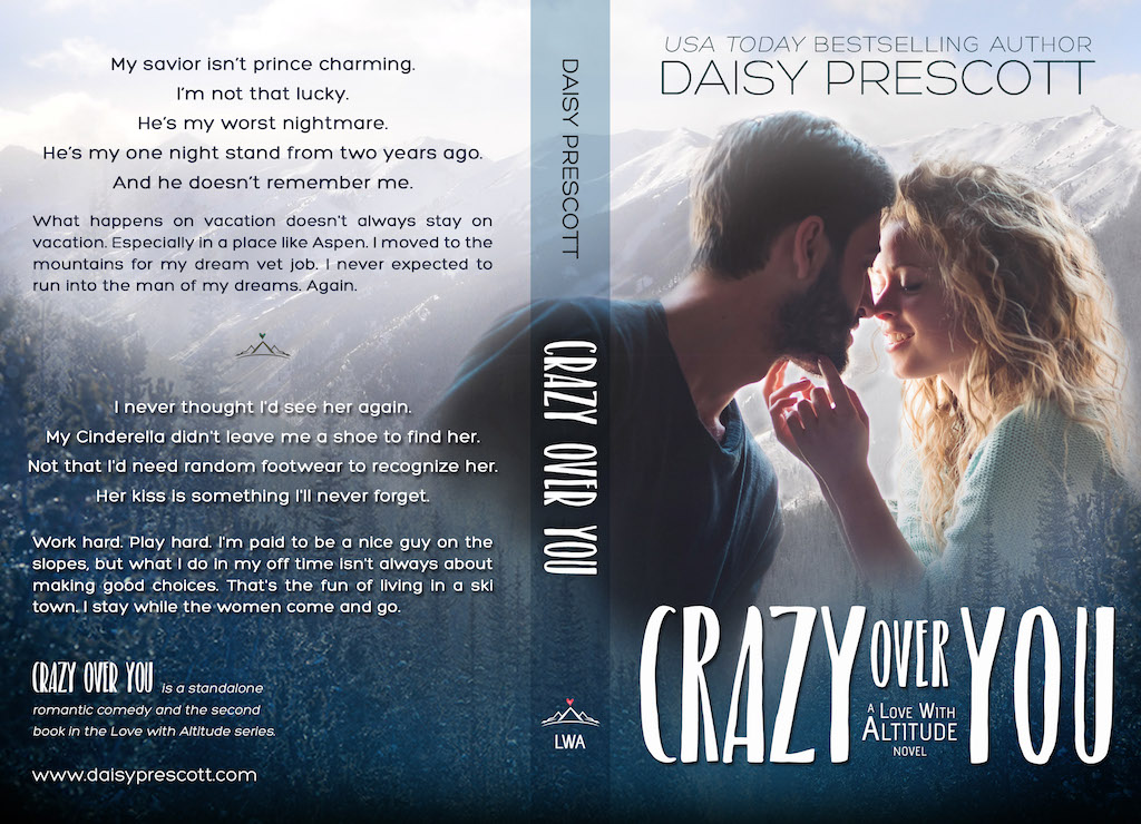 COVER REVEAL: 'Crazy Over You' by Daisy Prescott