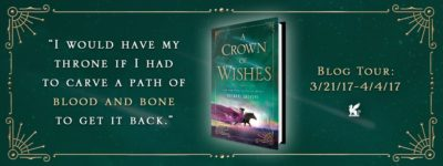 BOOK REVIEW: 'A Crown of Wishes' by Roshani Chokshi