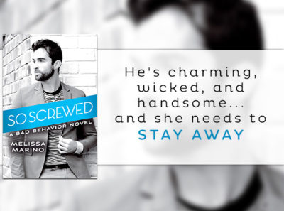 SPOTLIGHT/GIVEAWAY: 'So Screwed' by Melissa Marino