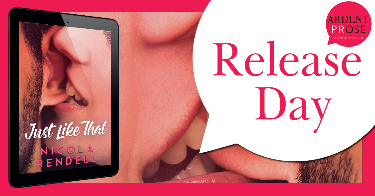 BOOK REVIEW: 'Just Like That' by Nicola Rendell -- 5 STARS