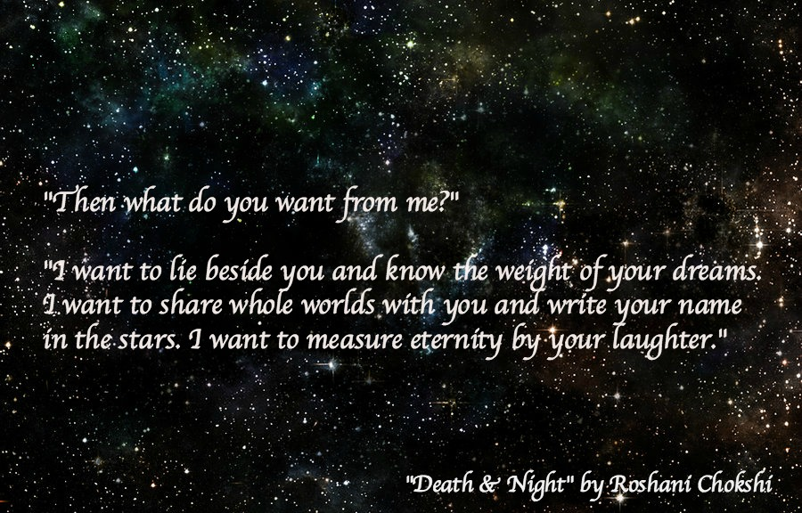 BOOK REVIEW: 'Death & Night' by Roshani Chokshi -- 5 STARS