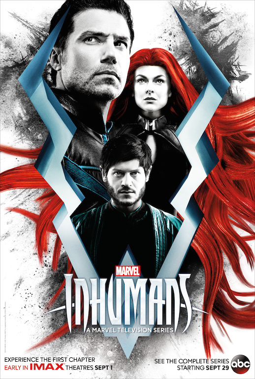 ABC Debuts 'Inhumans' Poster and Premiere Date