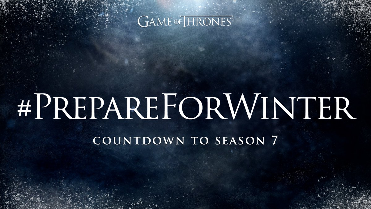 #PrepareForWinter with 'Game of Thrones' Epic Marathon