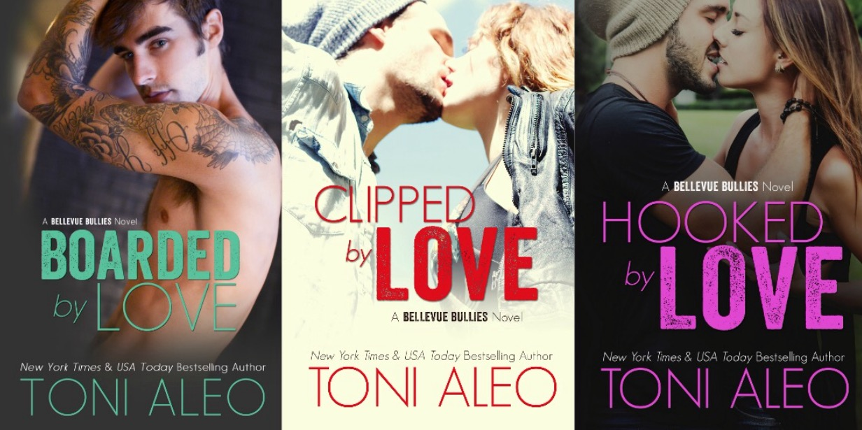 SPOTLIGHT: 'Bellevue Bullies' series by Toni Aleo
