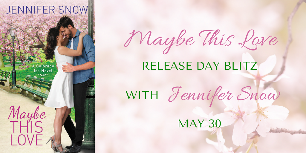 SPOTLIGHT/GIVEAWAY: 'Maybe This Love' by Jennifer Snow
