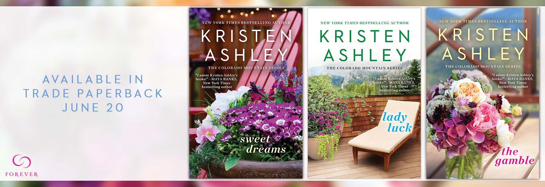 SPOTLIGHT/GIVEAWAY: 'Colorado Mountain' Series by Kristen Ashley