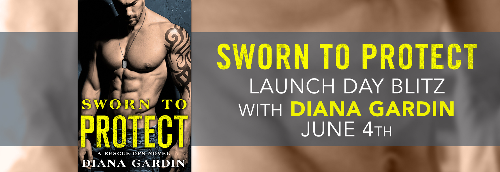 SPOTLIGHT/GIVEAWAY: 'Sworn to Protect' by Diana Gardin