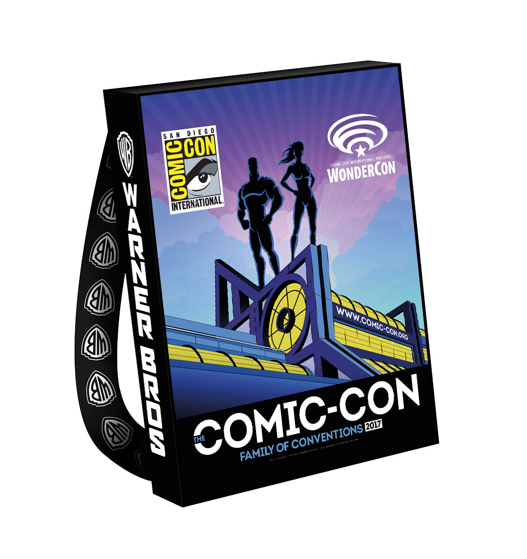 WBTV & CCI Reveal Official SDCC 2017 Bags