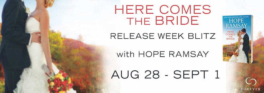 SPOTLIGHT/GIVEAWAY: 'Here Comes The Bride' by Hope Ramsay