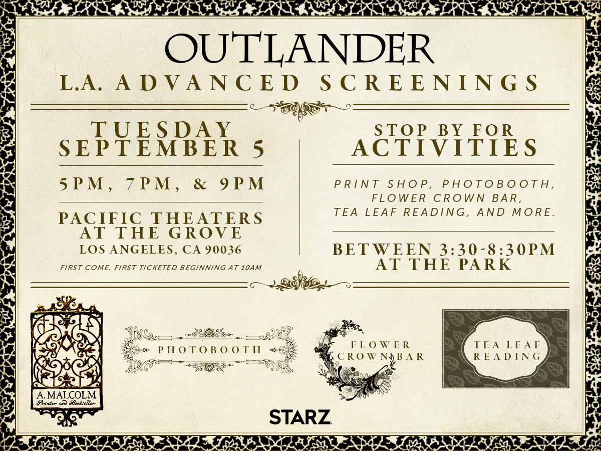 This Week in 'Outlander'—Season 3 Premiere Plans & New Interviews