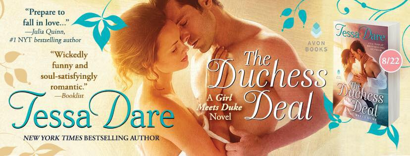 SPOTLIGHT/REVIEW: 'The Duchess Deal' by Tessa Dare