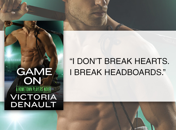 SPOTLIGHT/GIVEAWAY: 'Game On' by Victoria Denault