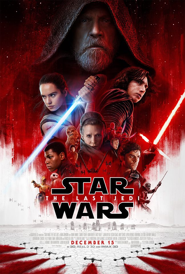 MOVIE NEWS: 'Star Wars: The Last Jedi' Debuts Official Trailer!