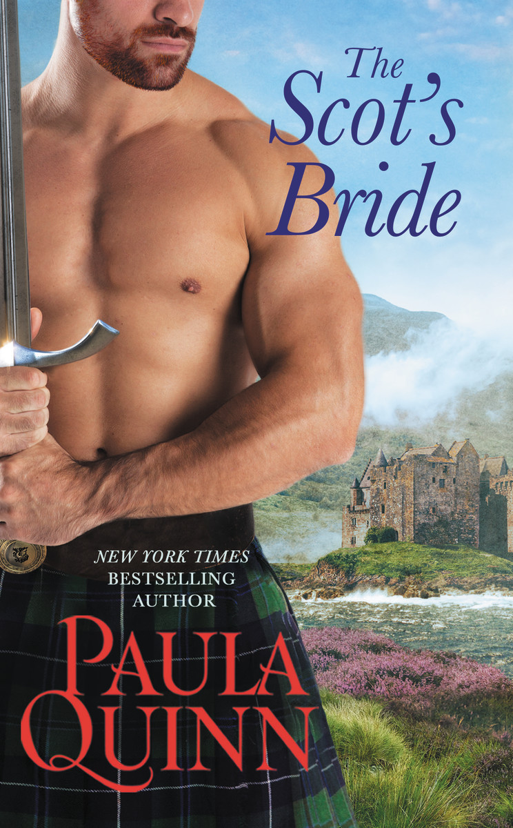 SPOTLIGHT/GIVEAWAY: 'The Scot's Bride' by Paula Quinn