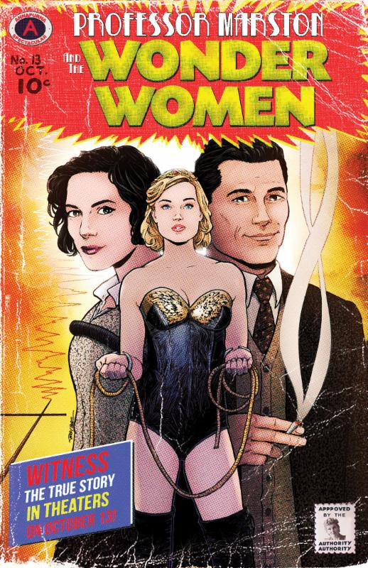 New 'Professor Marston and the Wonder Women' Trailer Debuts at New York Comic Con