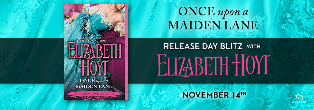 SPOTLIGHT/GIVEAWAY: 'Once Upon A Maiden Lane' by Elizabeth Hoyt