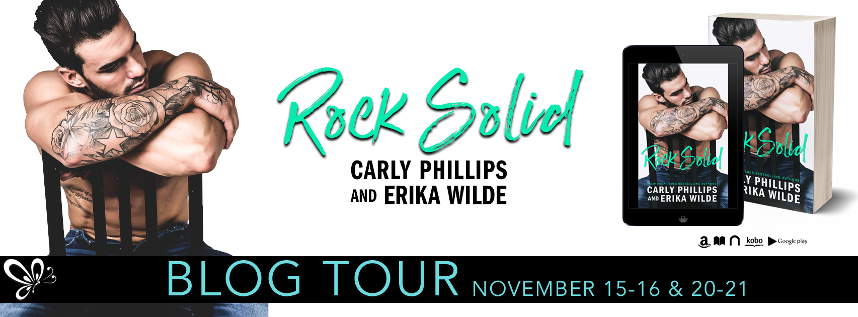 SPOTLIGHT: 'Rock Solid' by Carly Phillips and Erika Wilde