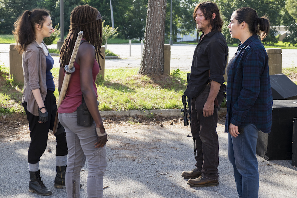 "REVIEW: 'The Walking Dead' Season Eight, Episode Seven ""The King, the Widow, and Rick"""