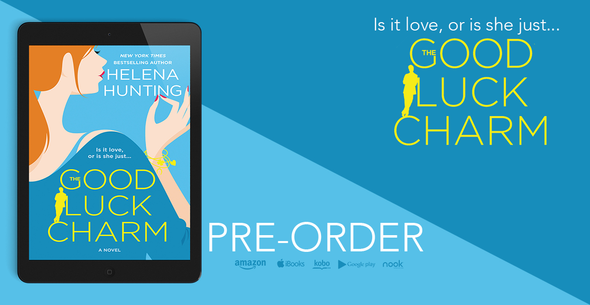 COVER REVEAL: 'The Good Luck Charm' by Helena Hunting