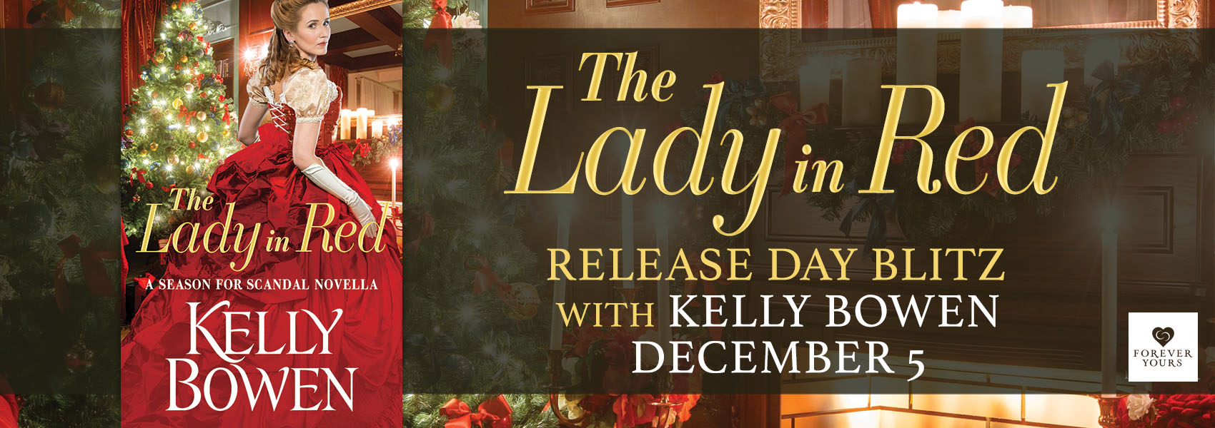 SPOTLIGHT/GIVEAWAY: 'The Lady in Red' by Kelly Bowen