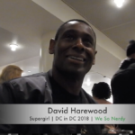 WSN INTERVIEWS: David Harewood at DC in DC 2018