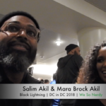 WSN INTERVIEWS: Salim Akil & Mara Brock Akil at DC in DC 2018