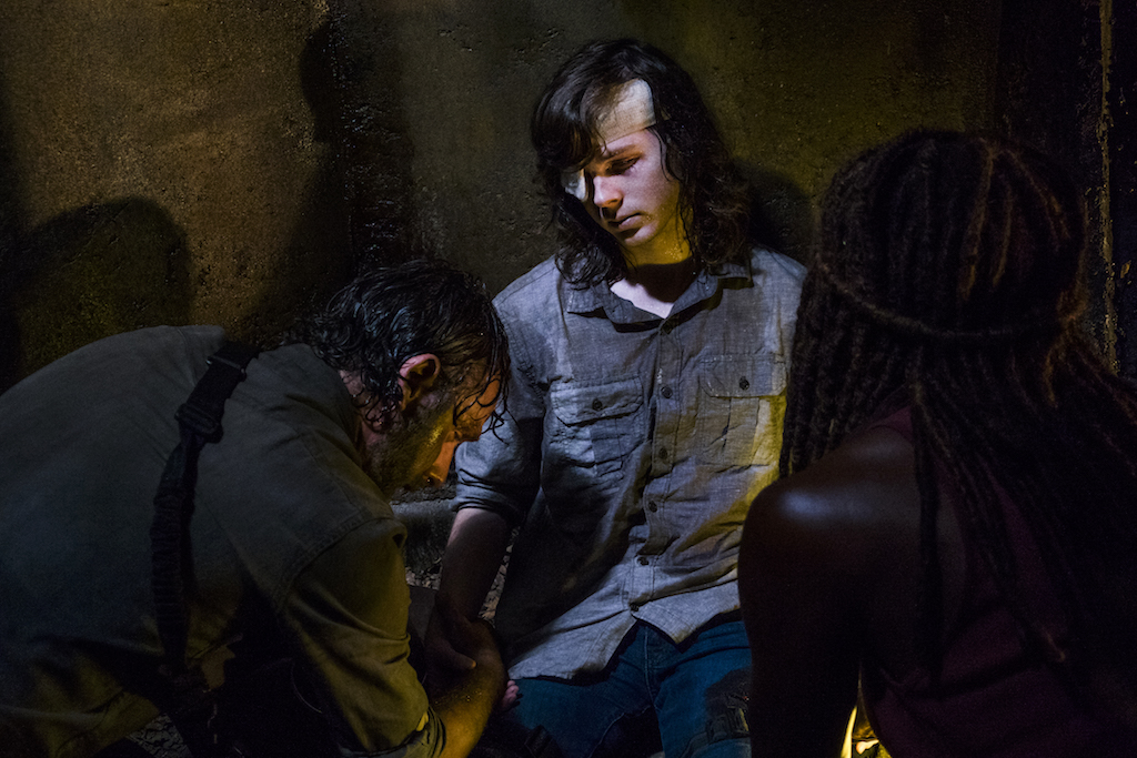 """Why """"The Walking Dead's"""" Reliance on Man Pain for Character Growth is Misguided"""