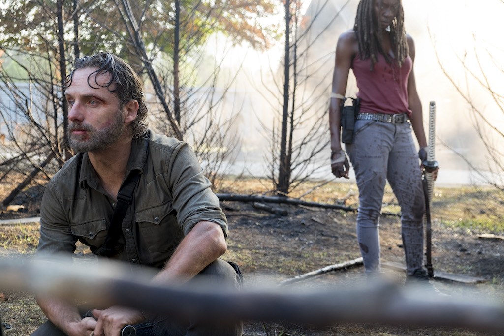 "PREVIEW: 'The Walking Dead' Season Eight, Episode Nine ""The Lost and the Plunderers"""