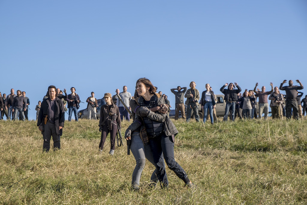 "RECAP/REVIEW: 'The Walking Dead' Season Eight Finale ""Wrath"""