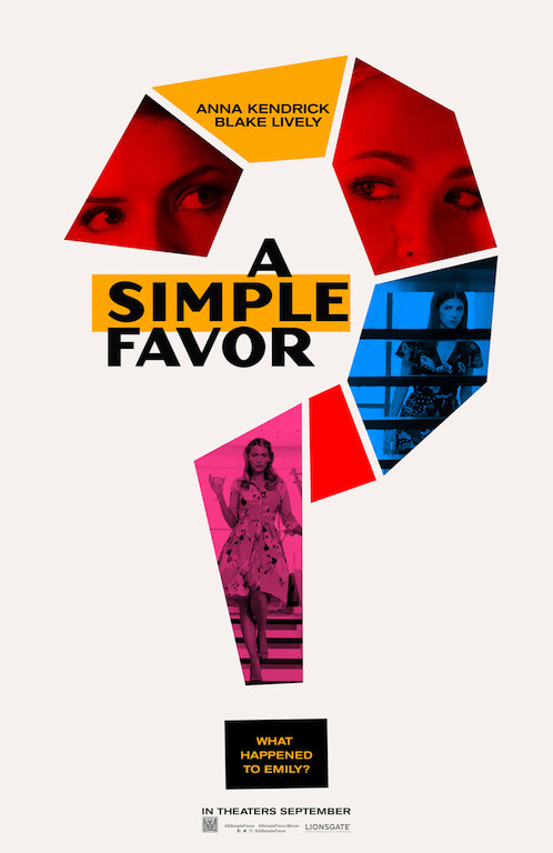 Watch the First Trailer for 'A Simple Favor'