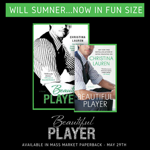 GIVEAWAY: Enter to Win a Copy of 'Beautiful Player' by Christina Lauren
