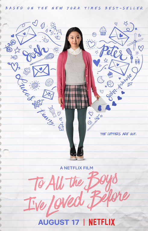 FILM REVIEW: 'To All the Boy's I've Loved Before'