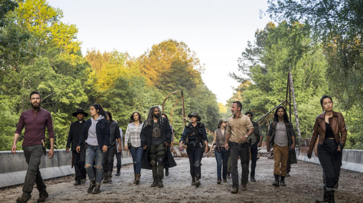 Love and Loyalties Take The Stage on Season Nine of 'The Walking Dead'!