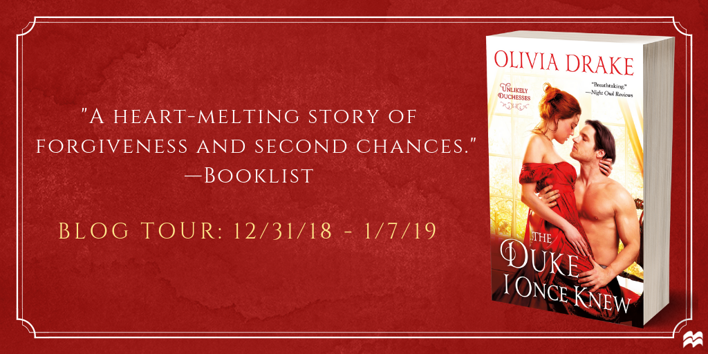 SPOTLIGHT: 'The Duke I Once Knew' by Olivia Drake