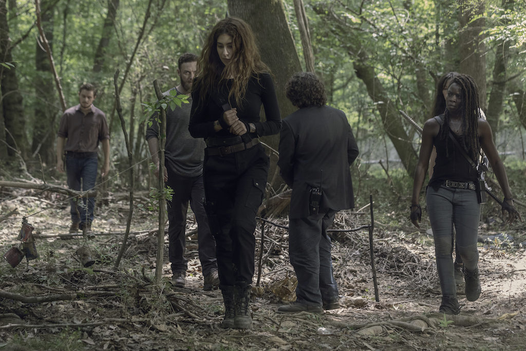 "RECAP: 'The Walking Dead' Season Ten Premiere ""Lines We Cross"""