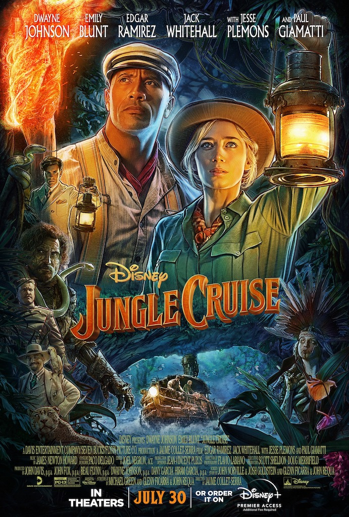 All Aboard! Disney's 'The Jungle Cruise' Arrives in July!